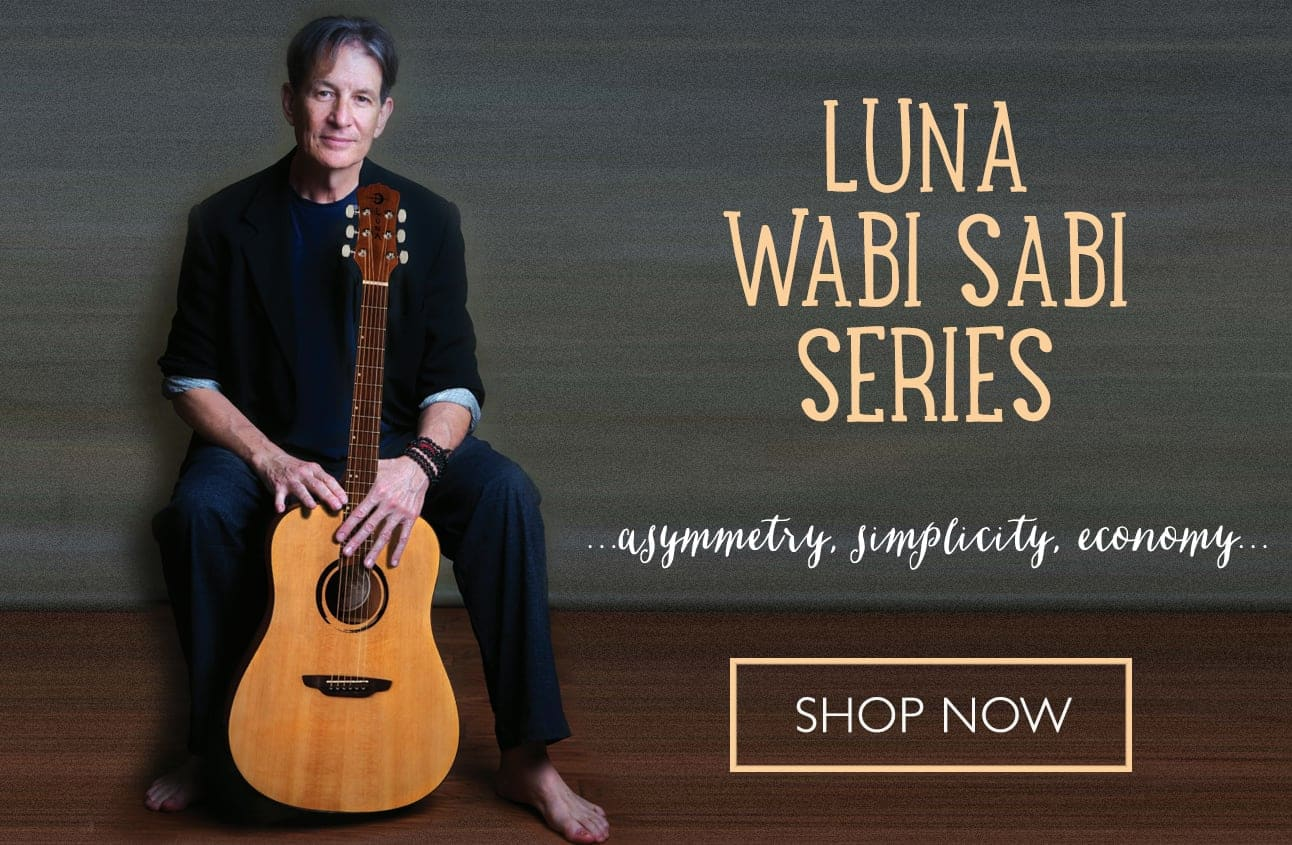 Acoustic Guitars - Wabi Sabi Series