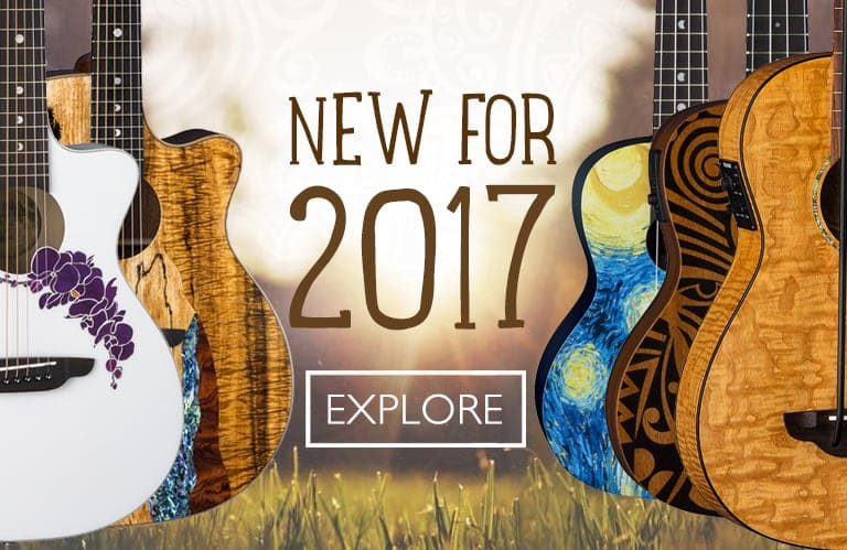 New Luna Guitars for 2017