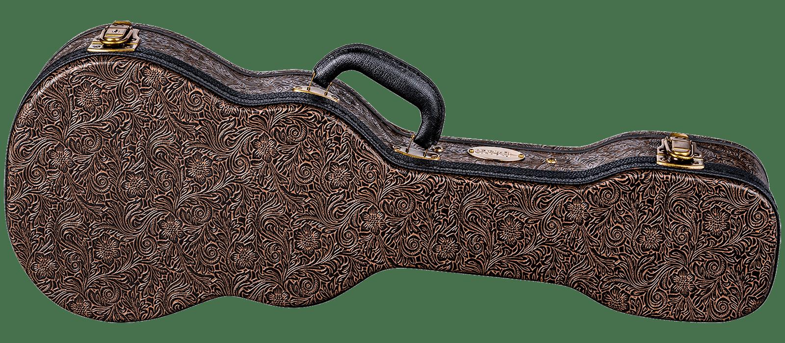 Luna Hard Case Tooled Leather Tenor