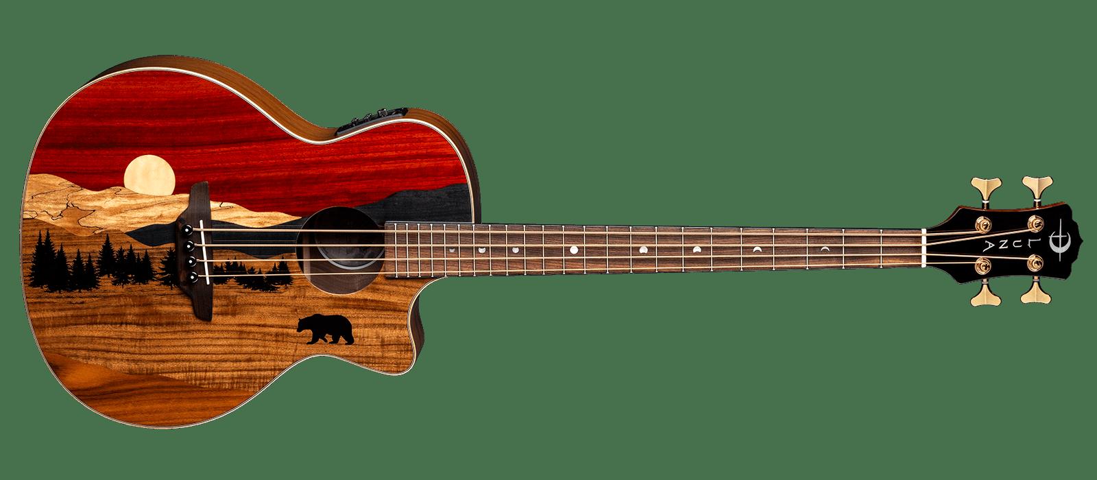 Vista Bear Bass Tropical Wood A/E