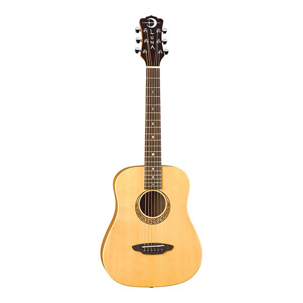 3c8c05b2ad Safari Bamboo Travel Guitar w/Gigbag | Luna Guitars
